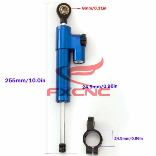 Steering Stabilizer Damper For Suzuki GSXR SV GSF GSR 600 750 1000 1300 HAYABUSA