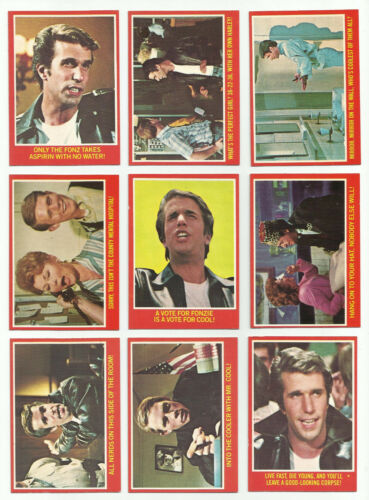 1976 opeechee happy days complete 44 card set very nice OPC NM PACK FRESH!