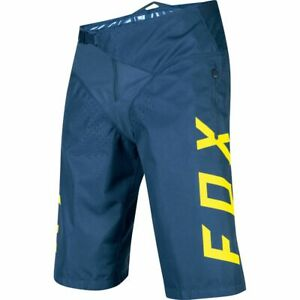 NWT-New-FOX-RACING-Demo-Short-Shorts-34-Midnight-L-Large-Mens-34W-o72e