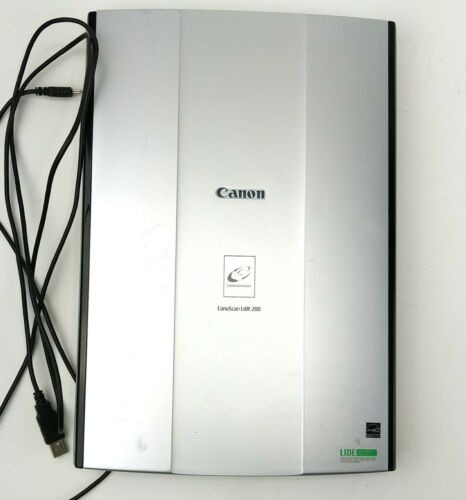 Canon CanoScan LiDE200 Flatbed Scanner Tested Working