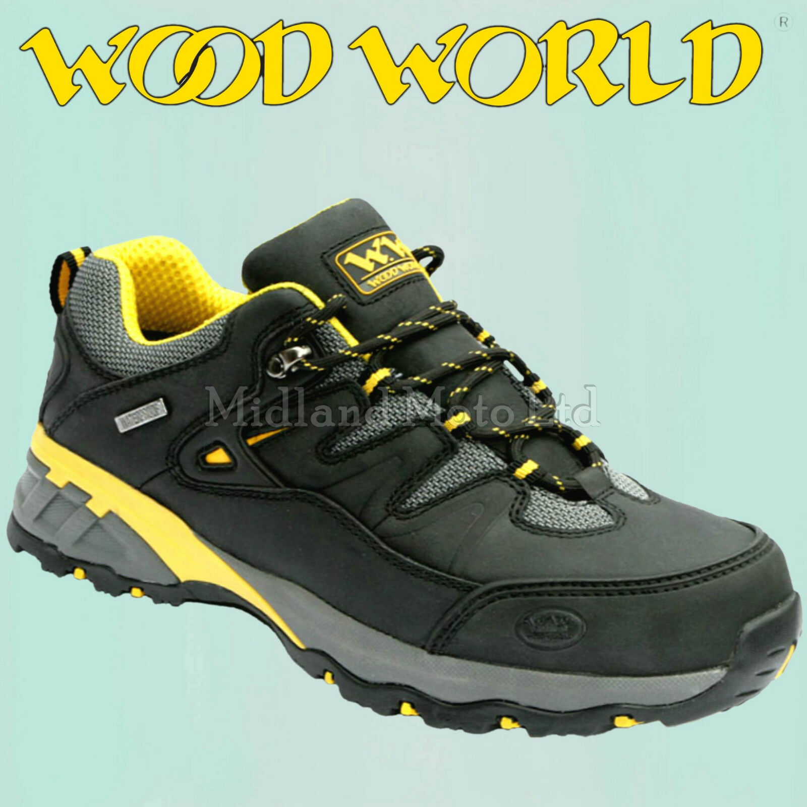 Wood World Waterproof  Steel Toe Cap Trainers, Safety Schuhes Woodworld. WW7