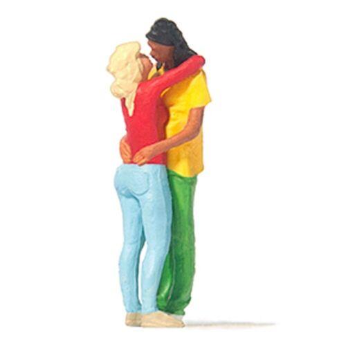 Jeune couple s/'embrassant-HO 1//87-PREISER 28227