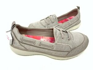 Details about NEW! Skechers Women's MICROBURST TOPNOTCH Slip On Shoes Taupe #23317 143V tz
