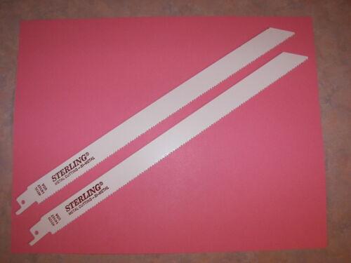 Sawzall Reciprocating metal cutting blades for Ridgid made in USA