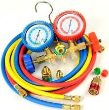 Manifold Gauge R134a R502a R22 R12 Refrigeration Air Conditioning Hvac Ac Tools