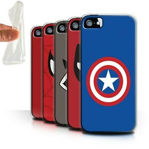 Gel-TPU-Case-for-Apple-iPhone-5-5S-Super-Hero-Comic-Art