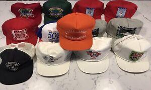 Little-League-World-Series-Hat-Lot-Vintage-New-Era-Snapback-LLWS-Pin-USA-1980s