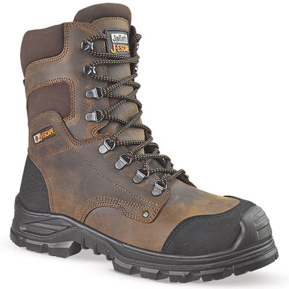 Da Uomo Jallatte Jallatte Uomo jalsequoia IMPERMEABILE S3 in Acciaio Punta Lavoro Militare Stivali di sicurezza d218ff