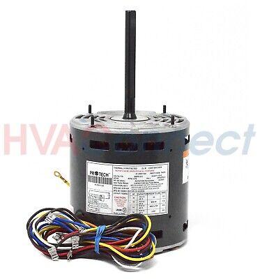 Rheem Ruud 51-23017-42 1//4-3//4HP 115V 1075RPM 4 Speeds Blower Motor Protech