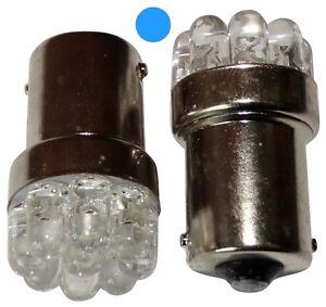 2x-Ampoules-24V-P21W-R10W-R5W-9LED-bleu-pour-camion-semi-remorque-portail