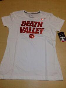d4096105 Nike Clemson Tigers NCAA T Shirt Womens Large Slim Fit Metallic ...