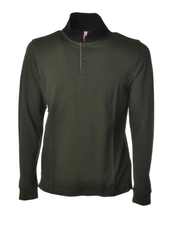 Sun 68 - Topwear-Polo - Man - Green - 6458426L191341