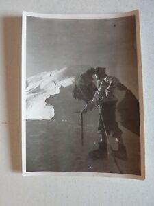 """Photo anonyme vintage Mont blanc Pic du Midi Dôme du goûter années 50/60 - France - État : Occasion : Objet ayant été utilisé. Consulter la description du vendeur pour avoir plus de détails sur les éventuelles imperfections. Commentaires du vendeur : """"Voir photos avec zoom svp"""" - France"""