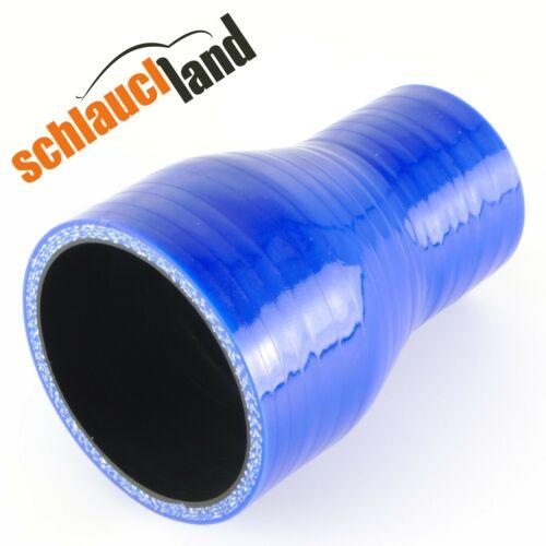 RIDUTTORE ID 60-30mm BLU *** Silicone Tubo reduzierer tubo dell/'aria di sovralimentazione LLK