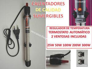 CALENTADOR-25W-50W-100W-200W-300W-Termocalentador-acuario-pecera-sumergible