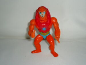B9-Vintage-He-man-MOTU-Beast-Man-6-034-figure-w-red-chest-armor-1982-Mattel