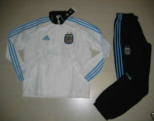 0337 ADIDAS SIZE 14 YEARS 164 CM ARGENTINA PRESENTATION TRACKSUIT CHILD