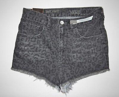 Neu Damen Capital Abgeschnitten Hohe Taille Denim Jeans Shorts Größe 5   eBay