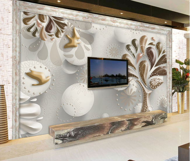 3D Dreidimensionaler Baum 7 Tapete Tapeten Mauer Foto Familie Tapete Wandgemälde