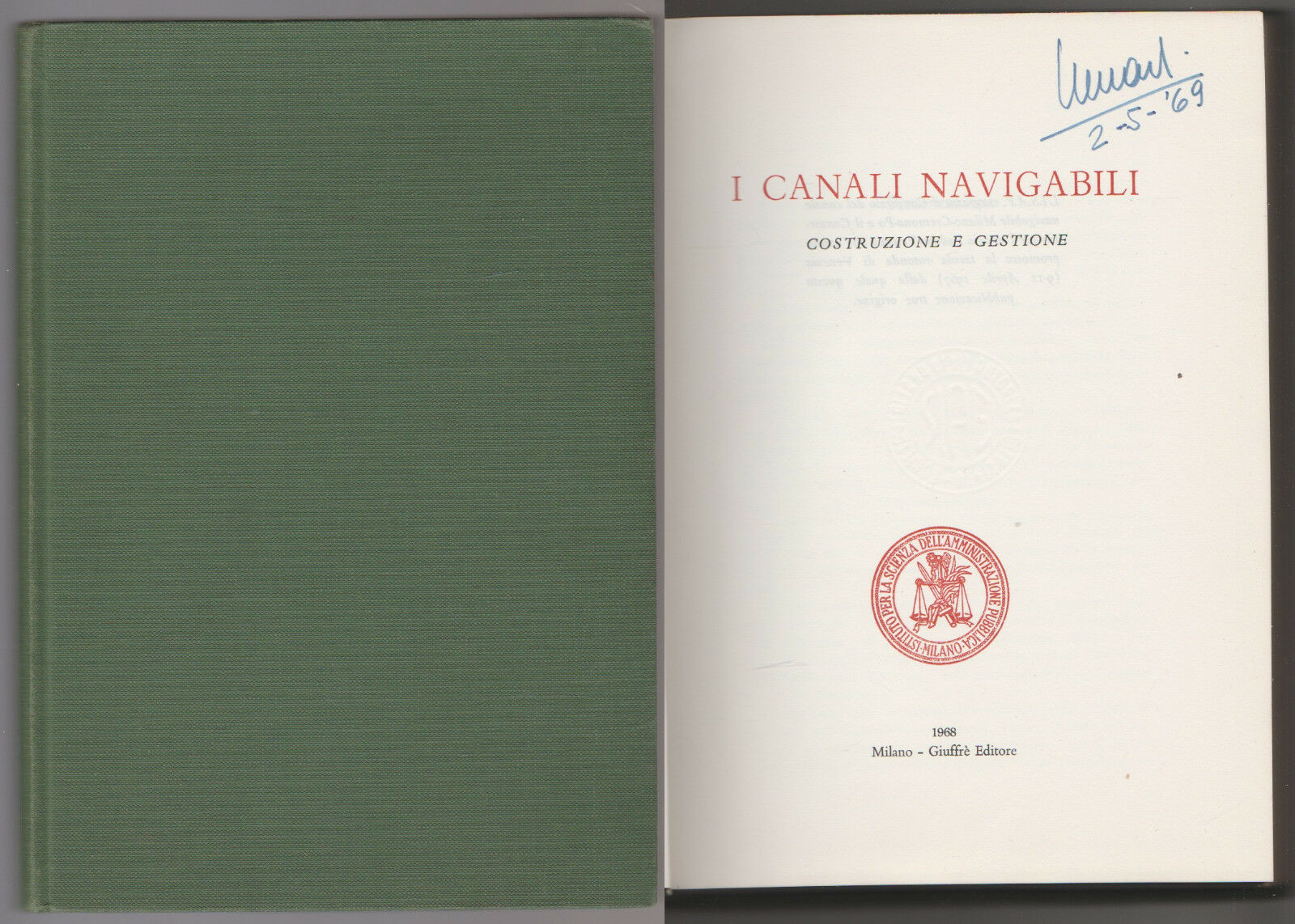 I canali navigabili. Costruzione e gestione - Contributi 7