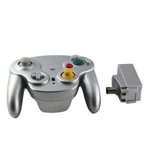 Gamecube-Nintendo-Wii-Wavebird-Style-Wireless-Controller-by-Mario-Retro-Silver