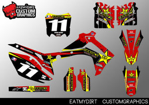 Details About For Honda Crf 250 14 17 450 2013 2016 Custom Graphics Stickers Motocross Decals