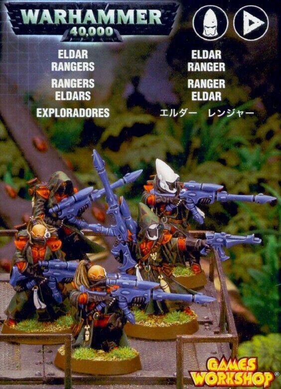 Warhammer Eldar Rangers   2005 Release Sealed Box