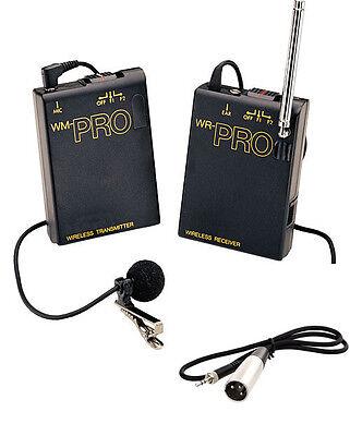 Pro XF405 WLM XLR M wireless lavalier mic fo Canon XF400 XF305 XF300 XF205 XF200