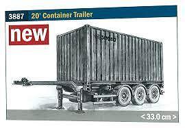 Italeri Models 1 24 20 Ft. Container Trailer