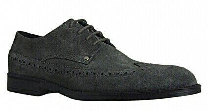 marchio in liquidazione GUESS uomo numero numero numero 43. Scarpe eleganti stile inglese in camoscio grigio.  vendita calda