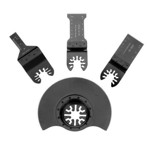 4pcs//set Oscillating MultiTool Saw Blade for Renovator Power Tools Cutting L/&6