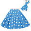 ROCK-N-ROLL-POLKA-DOT-SKIRT-21-034-Length-039-50s-GREASE-LADIES-FANCY-DRESS-COSTUME Indexbild 18