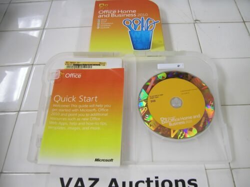 Microsoft Office 2010 Home and Business For 2 PCs Full Retail English Version
