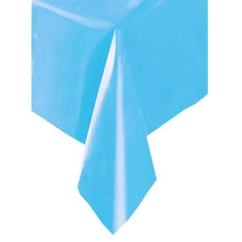diapositiva 137cm x 274cm Party-mantel color taubenblau