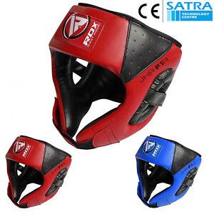 RDX-Kinder-Kopfschutz-Boxen-Headguard-Kampfsport-Kickboxen-Kopfschutzhelm-MMA-DE