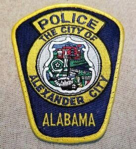 Alabama Department Of Corrections Police Patch