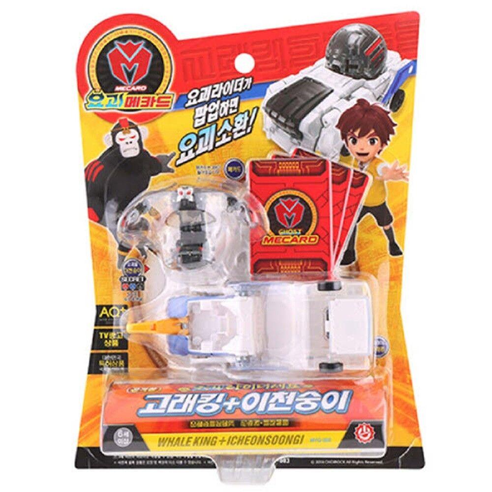[New] Ghost Mecard Rider Set WHALE KING + ICHEONSOONGI Transformer Toy Kid Gift