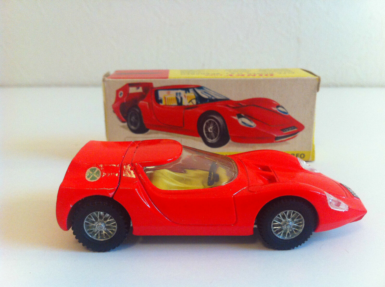 Dinky Toys - 217 - Alfa Romeo Romeo Romeo OSI Scarabeo VN MIB 405688