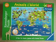 Ravensburger Animals of the World 60pc Giant Floor Jigsaw multi-colored