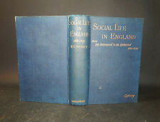 1892 Sydney SOCIAL LIFE IN ENGLAND From Resoration to Revolution 1660-90 1st Ed