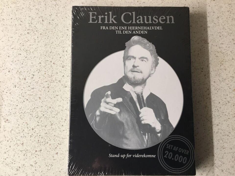 Erik Clausen fra den ene hjernehalvdel til den an, DVD,