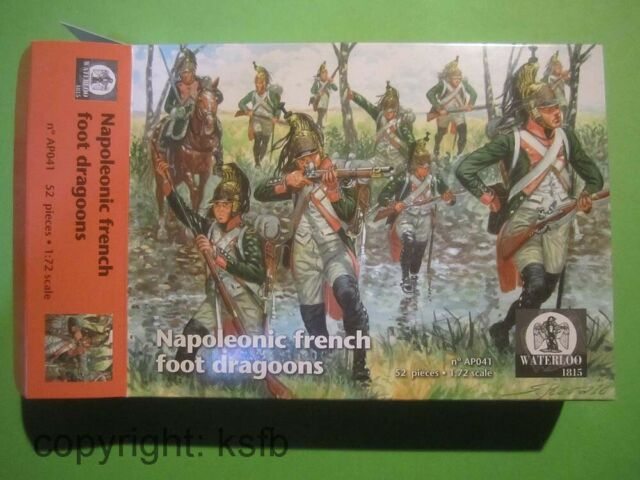 1:72 Waterloo1815 #041 Napoleon Frankreich Dragoner zu Fuß French foot Dragoons