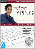 Mavis Beacon Teaches Typing Deluxe - Retail Box