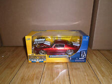 JADA  BIGTIME MUSCLE 1:24 SCALE 1971 CHEVY CAMARO RED MIB
