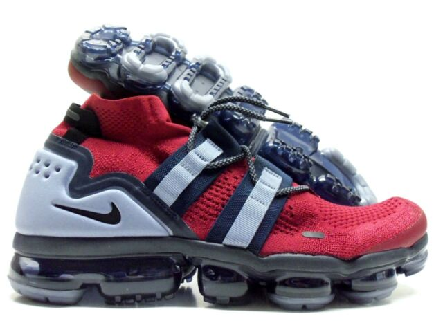 size 40 840d0 16d76 Nike Air Vapormax Flyknit Utility Team Red Obsidian Mens Max Ah6834-600  Size 15
