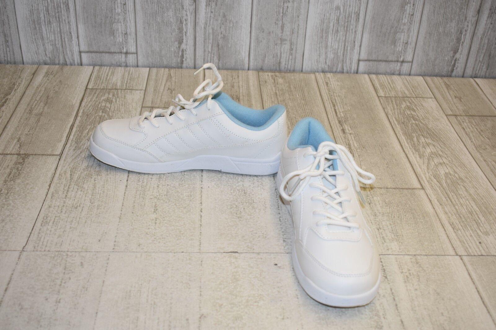 BSI 422 Bowling shoes - Women's Size 8.5, White bluee