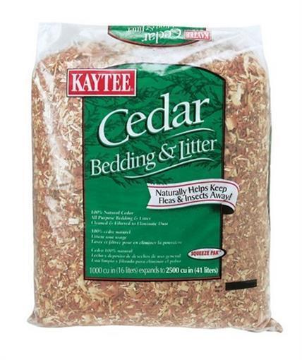 Kaytee 100503547 Red Cedar Bedding  Litter 1000 cu. in.