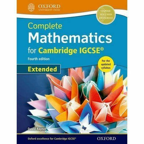 1 of 1 - Complete Mathematics for Cambridge IGCSE (R) Student Book (Core) by Rayner, Dav