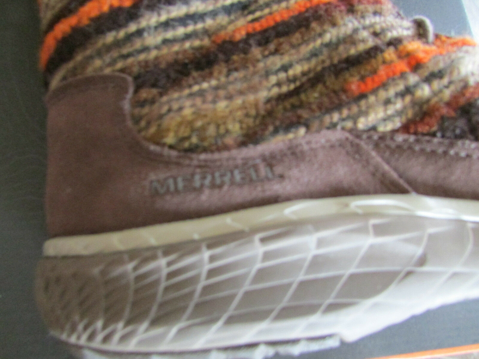 NEW MERRELL PECHORA SKY J42834 TALL/MID Damenschuhe  Stiefel Damenschuhe TALL/MID 7.5 LEATHER WOOL LACE UP 9e059a