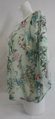 Ladies new ex george green floral  blouse size 8 10  14 18 20